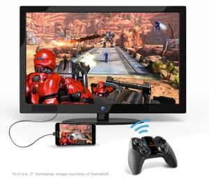 Jouer sur grand écran avec Android et Moga